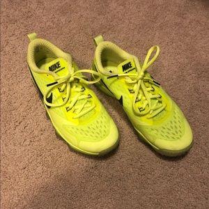 Nike zoom hypercross sneakers in volt